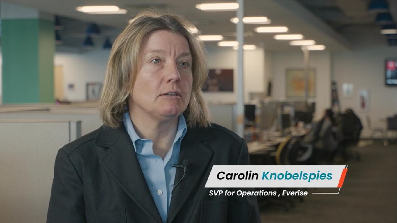 People of Everise | Carolin Knobelspies | SVP of Operations
