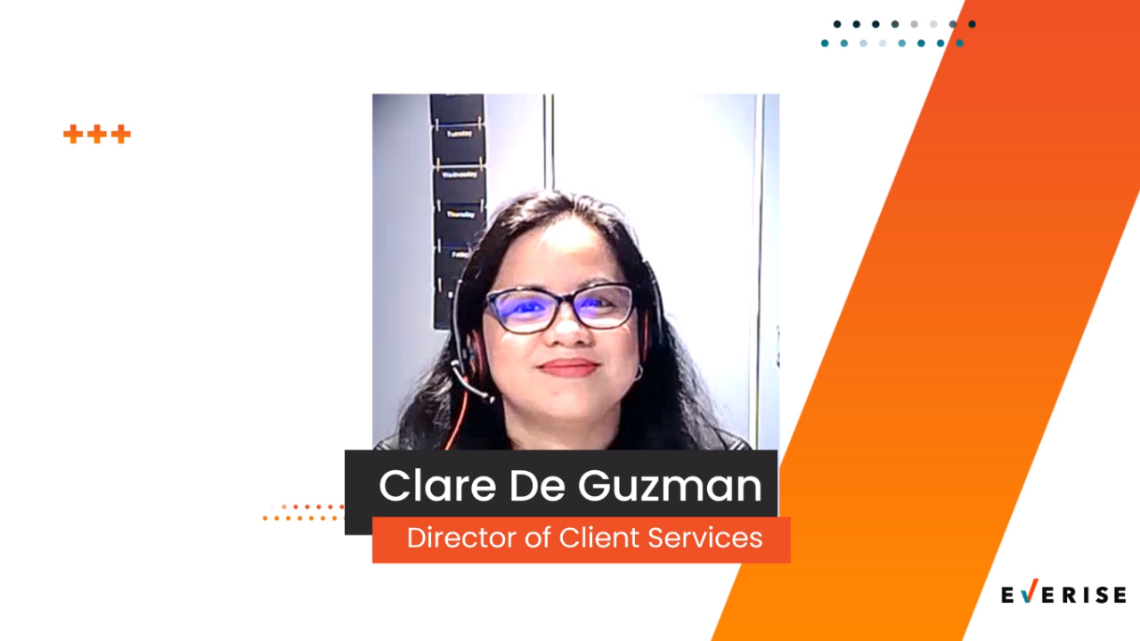 People of Everise | Clare De Guzman | Live From Our Living Room