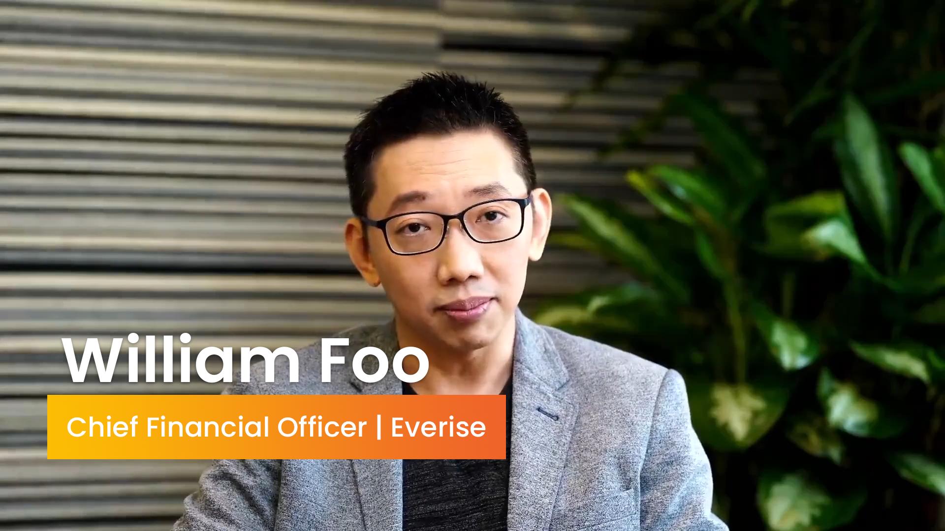 The Evolving Role of the CFO | William Foo, CFO, Everise
