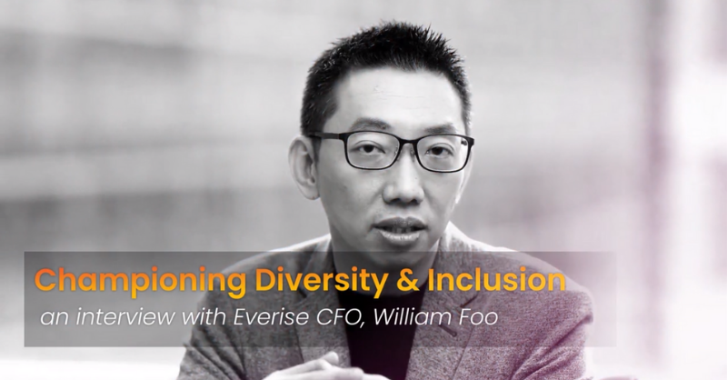 Championing Diversity & Inclusion | William Foo, CFO