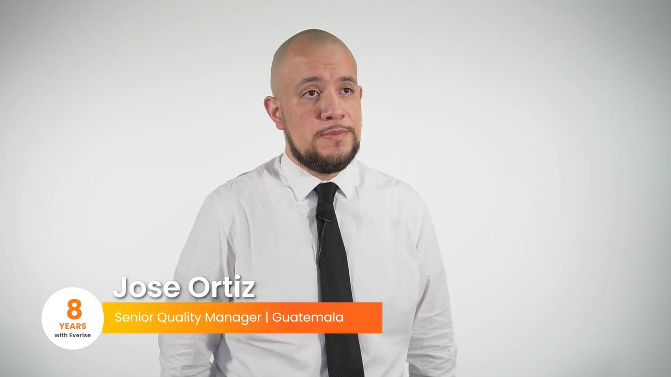 People of Everise: Tenured Champions Edition | Joe Ortiz, Guatemala