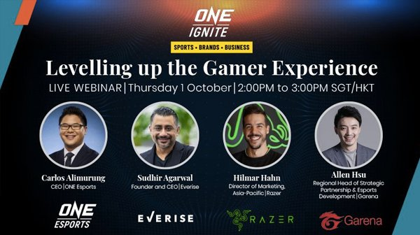 webinar levelling up the gamer experience