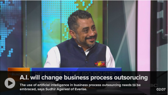 Sudhir Agarwal_Everise CEO_CNBC_AI and BPO Industry
