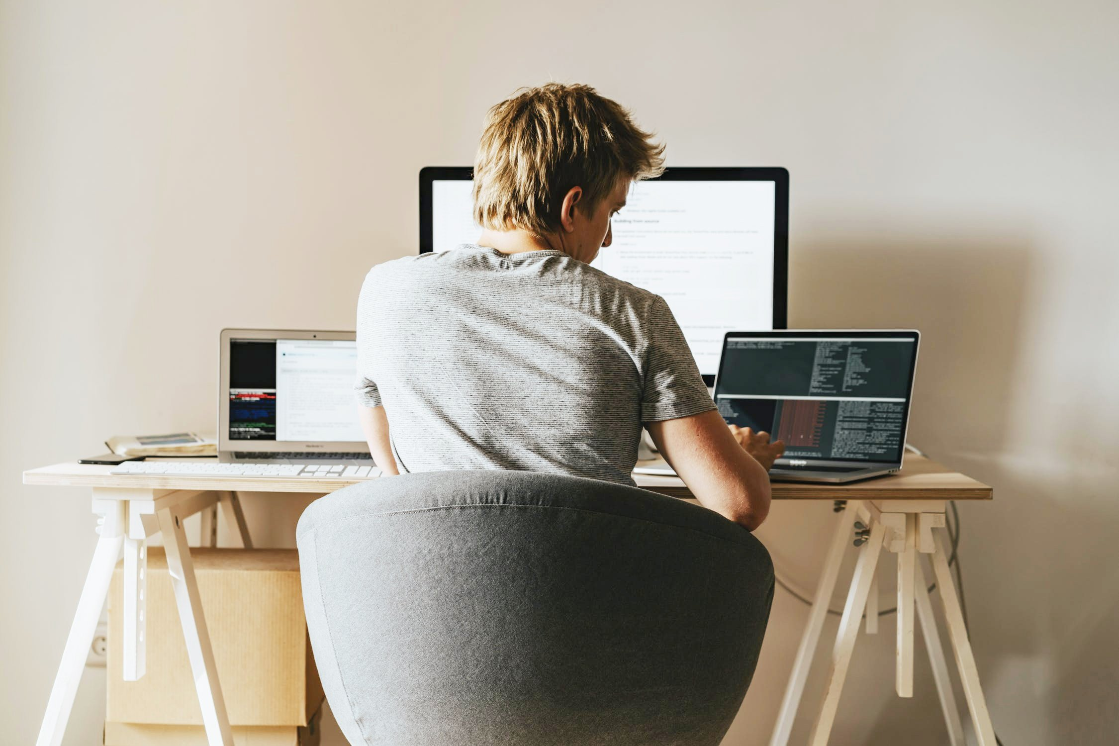 Supporting a Smart Work-at-Home Environment